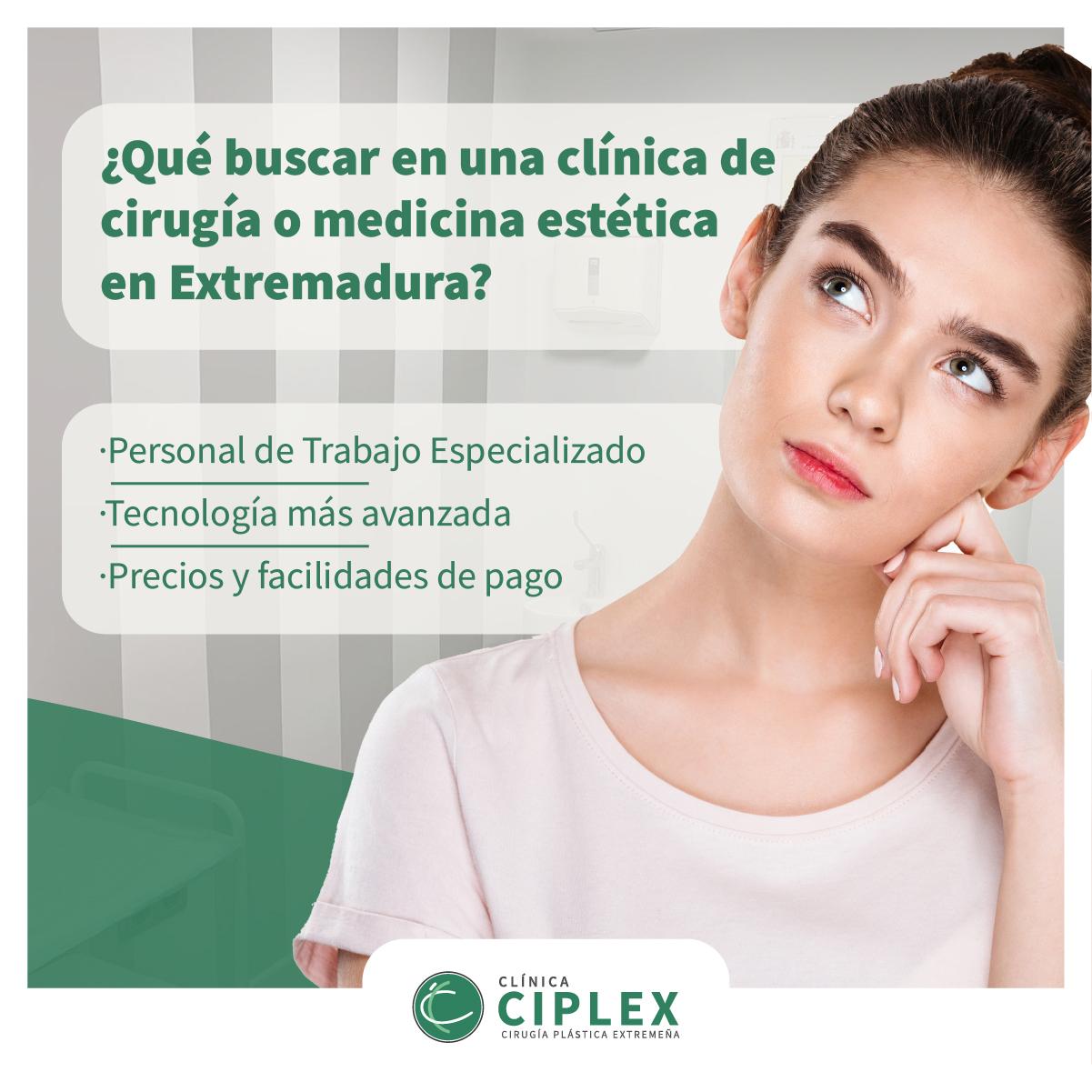 ¿Qué buscar en una clínica de cirugía o medicina estética en Extremadura?